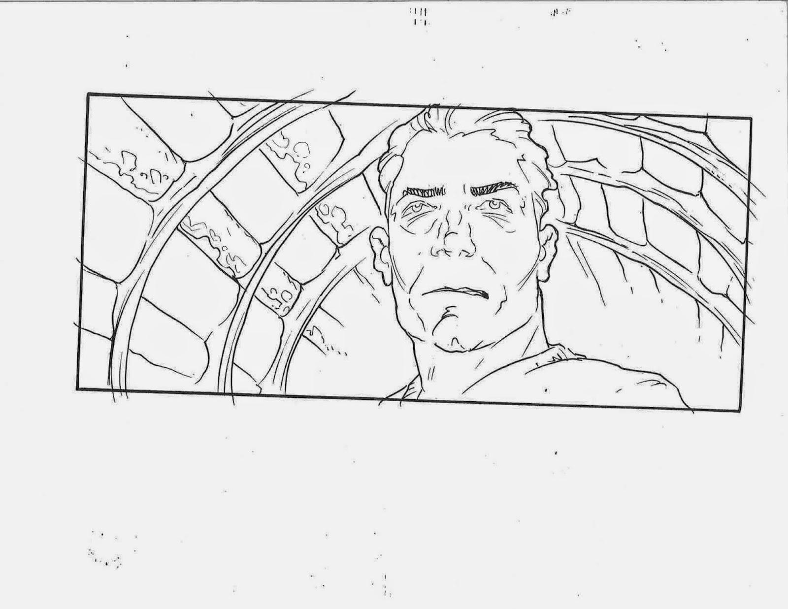 Ricardo Delgado's blog: Matrix Storyboards- Close up of