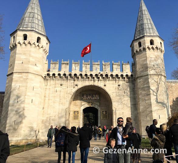 Topkapı sarayı ana girişi Babüsselam, İstanbul