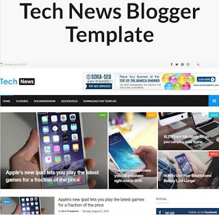 Best Blogspot Blogger Template 2019