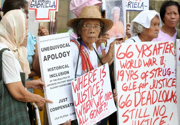 South Korean comfort women still demanding a formal apology from Japan, The Comfort Women of the Imperial Japanese Army