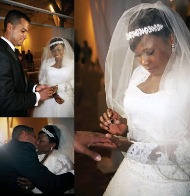 Uche Jombo S Wedding Pictures Photos Revealed