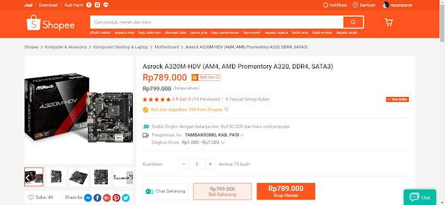 ASRock A320M-HDV