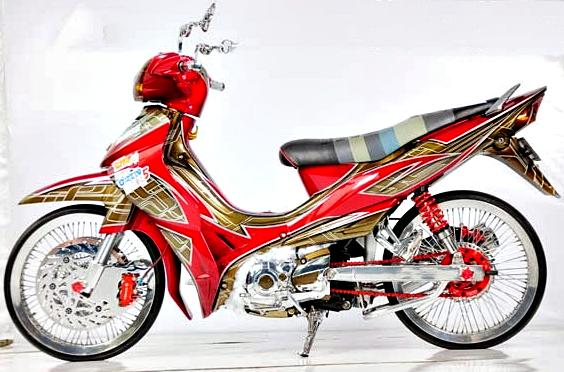 Gambar Modifikasi Motor Jupiter Z Exotis