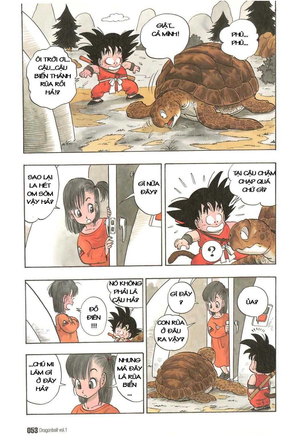 Dragon Ball chap 3 trang 5