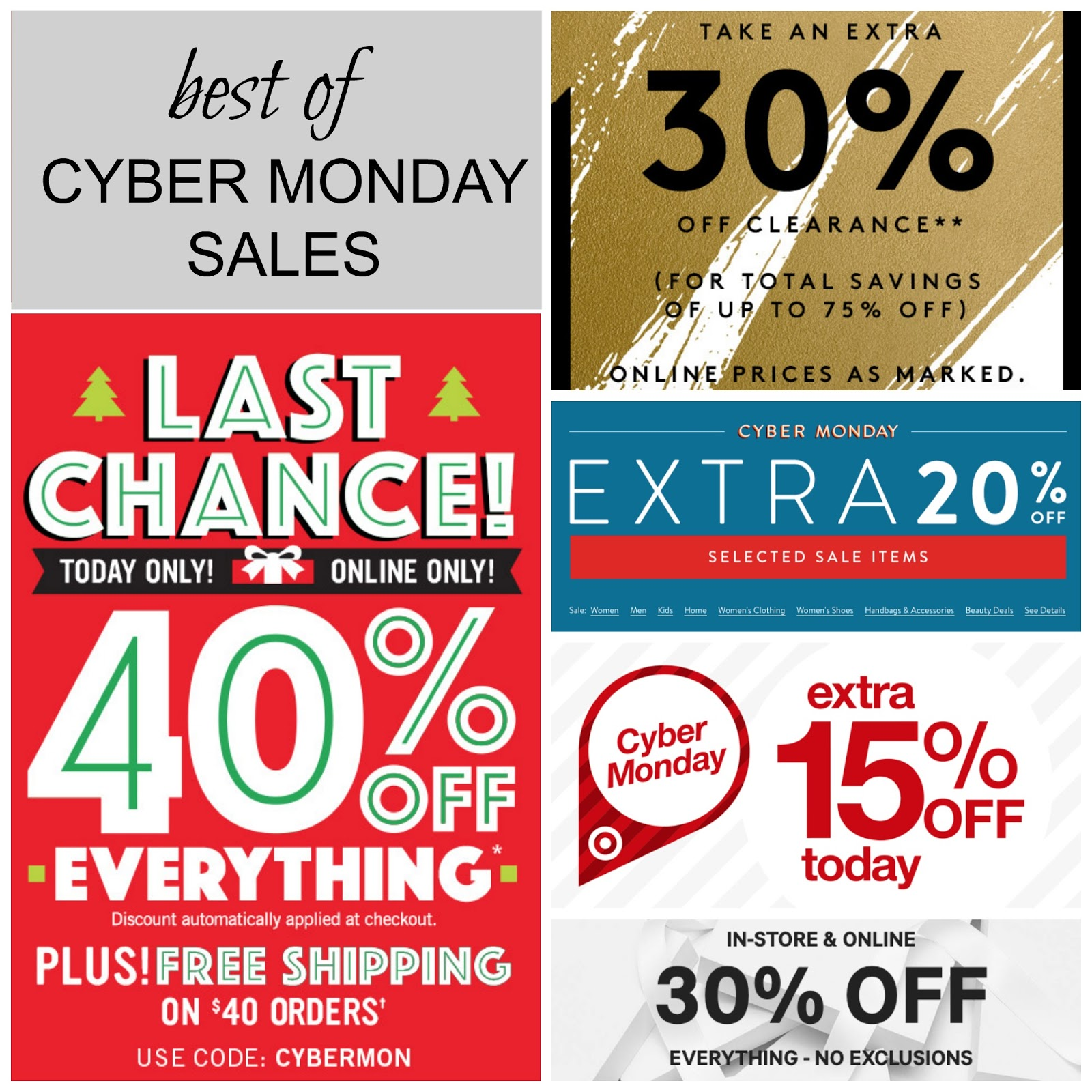 Tracy S Notebook Of Style Best Of Cyber Monday Deals Extra 50 Off Free Shipping Deals