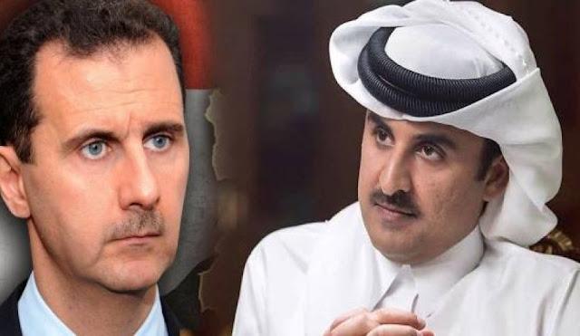 لماذا سرب الاسد معلومة استئنافِ العَلاقات السُّوريّة القَطريّة؟