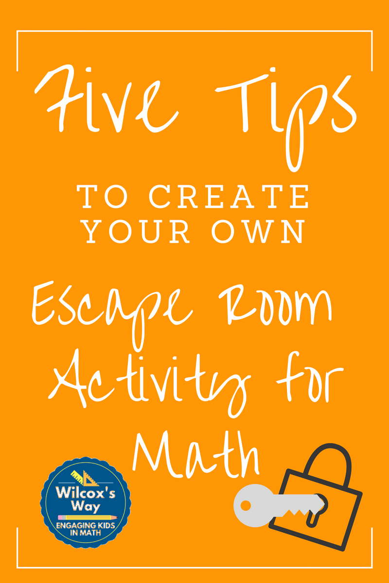 Wilcox 39 s way ideas to create your own escape room puzzles - Create your own room ...