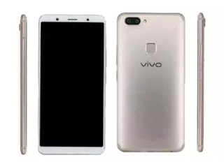 Vivo X20 Plus Phone Images and phone back