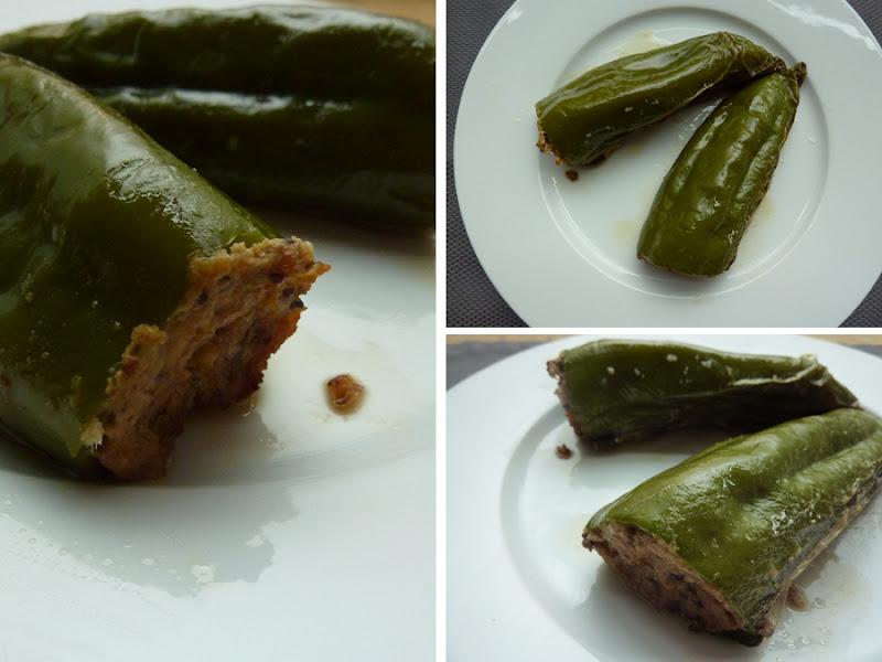 Charo Y Su Cocina Pimientos Verdes Rellenos De Pollo