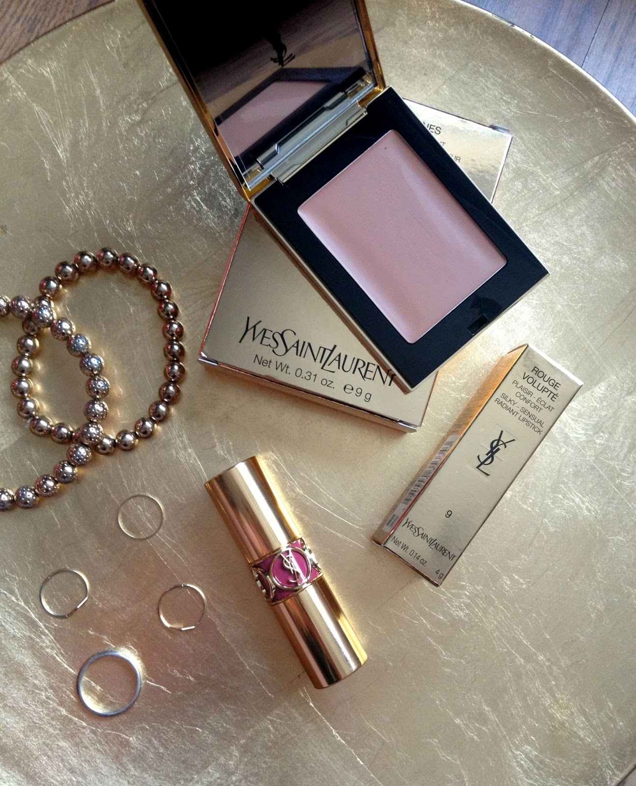 YSL make up haul