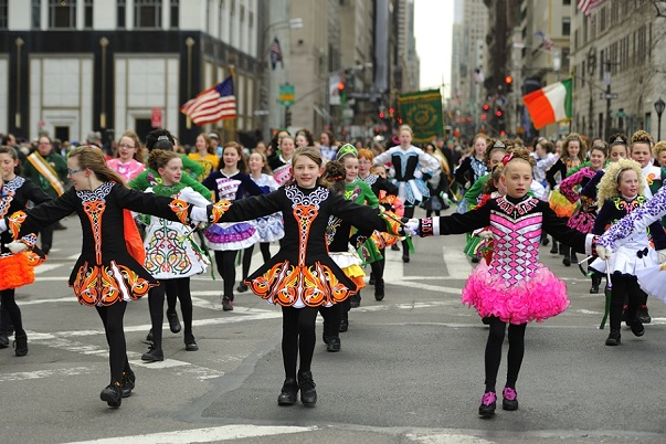 St Patrick's Day Parade New York
