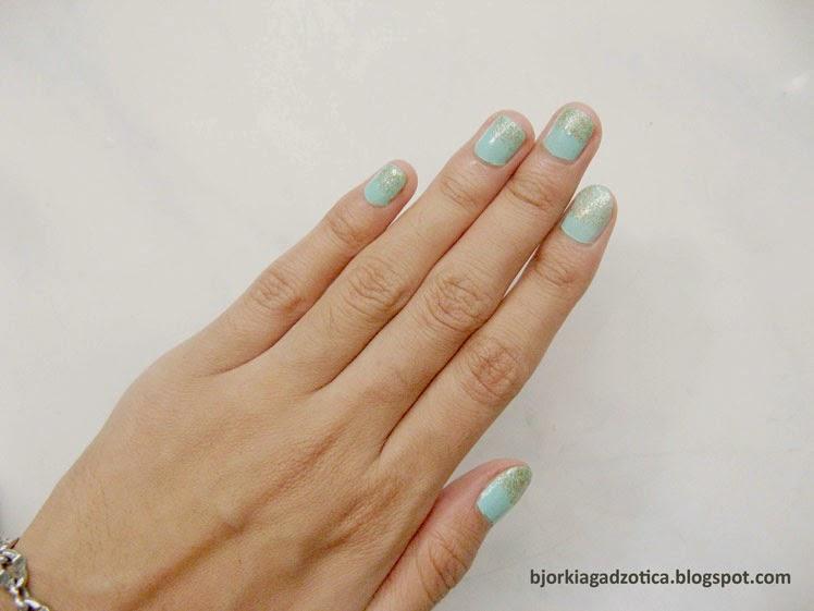 Holika Holika Pastel Nails 01 Sweet Mint Swatches