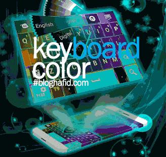 Keyboard penuh warna android
