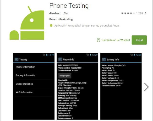 phone testing