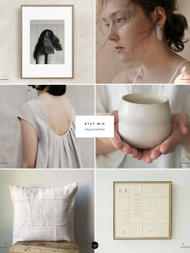 Best of handmade products on Etsy curated by Eleni Psyllaki for My Paradissi