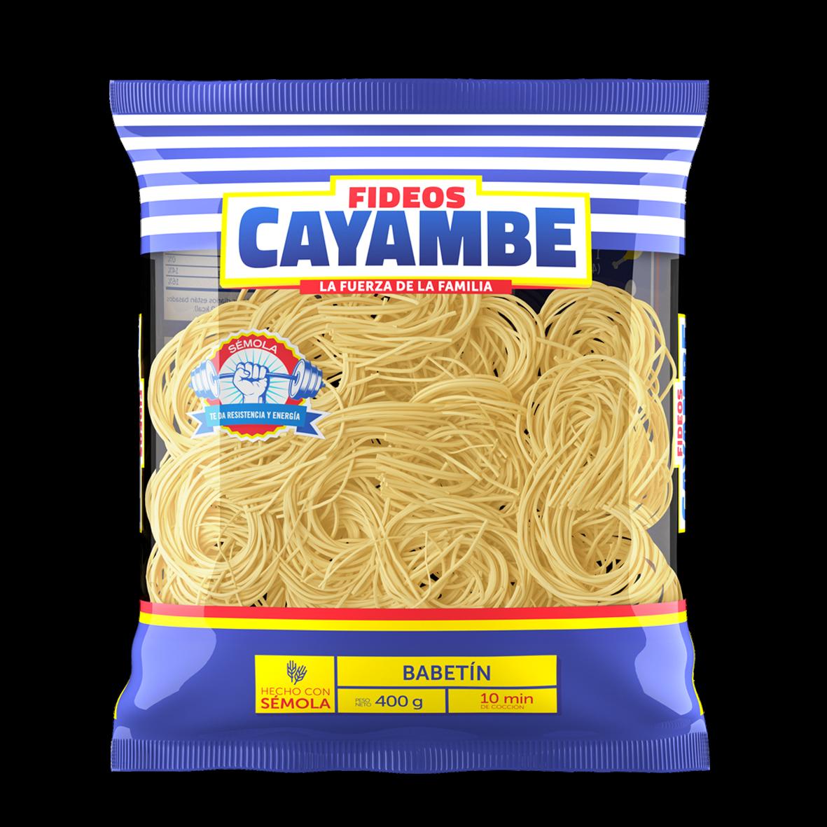 Fideos Cayambe la mejor opción en la alimentación de los ecuatorianos