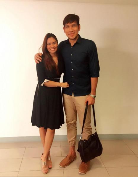 Top 15 Beautiful Photos of June Mar Fajardo's Girlfriend Aerieal Patnongon
