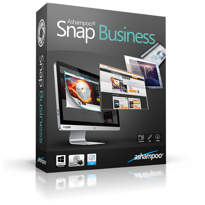 ASHAMPOO SNAP BUSINESS 8.0.2 + CRACK | Aero mag
