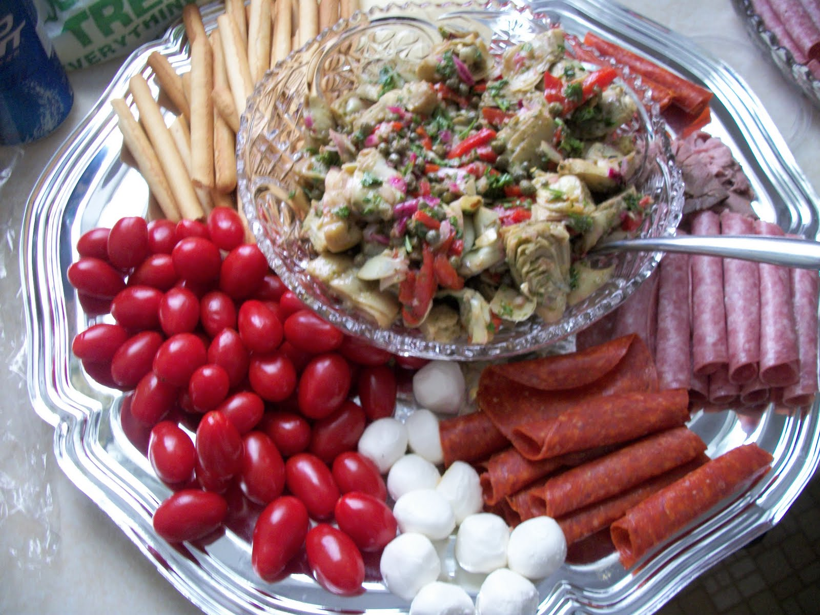 Writing Straight From The Heart: Antipasto (Labor-Intensive)