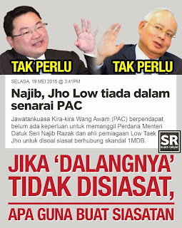 Image result for Kerana Najib Sayang Jho Low