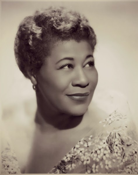 I Listen To Ella Fitzgerald While Folding My Laundry.