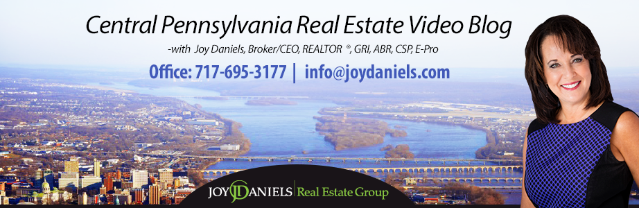 Central Pennsylvania Real Estate Video Blog with Joy Daniels