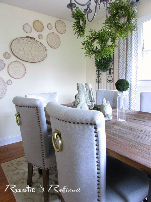 Farmhouse Dining Room Updates