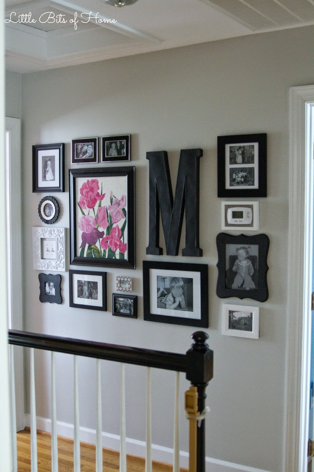 Hallway Gallery Wall on Pinterest Wall Decor  id=19117