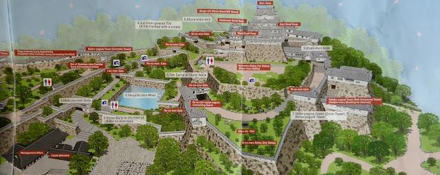 Mapa del recinto del Castillo