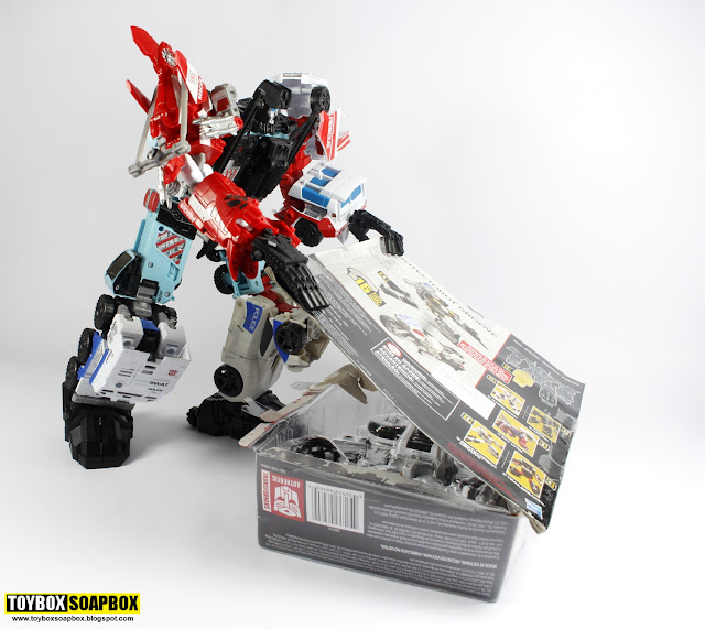 defensor with deluxe groove attached