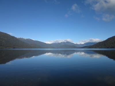 Lago Kaniere, Nueva Zelanda