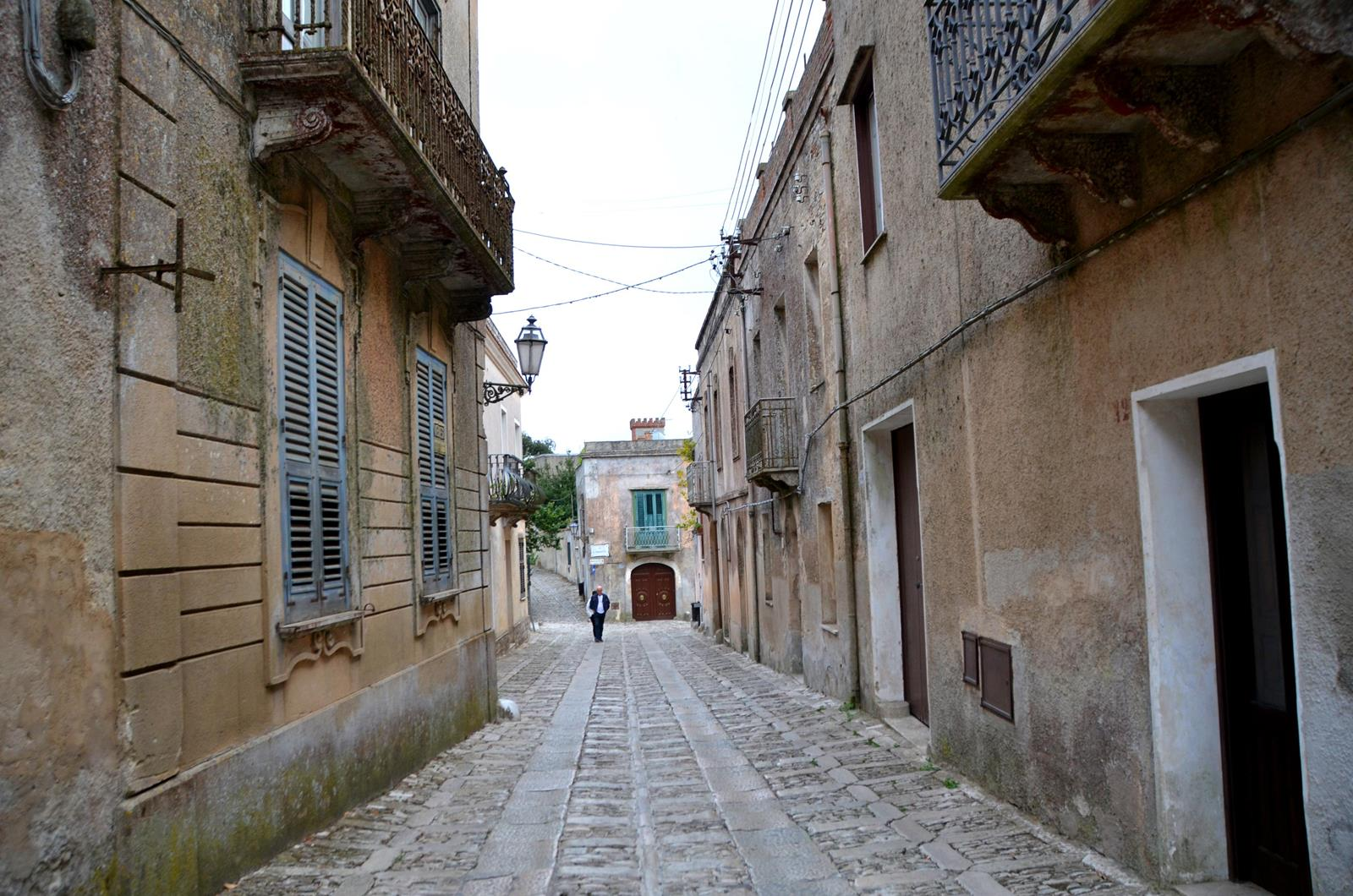 erice sycylia ulice