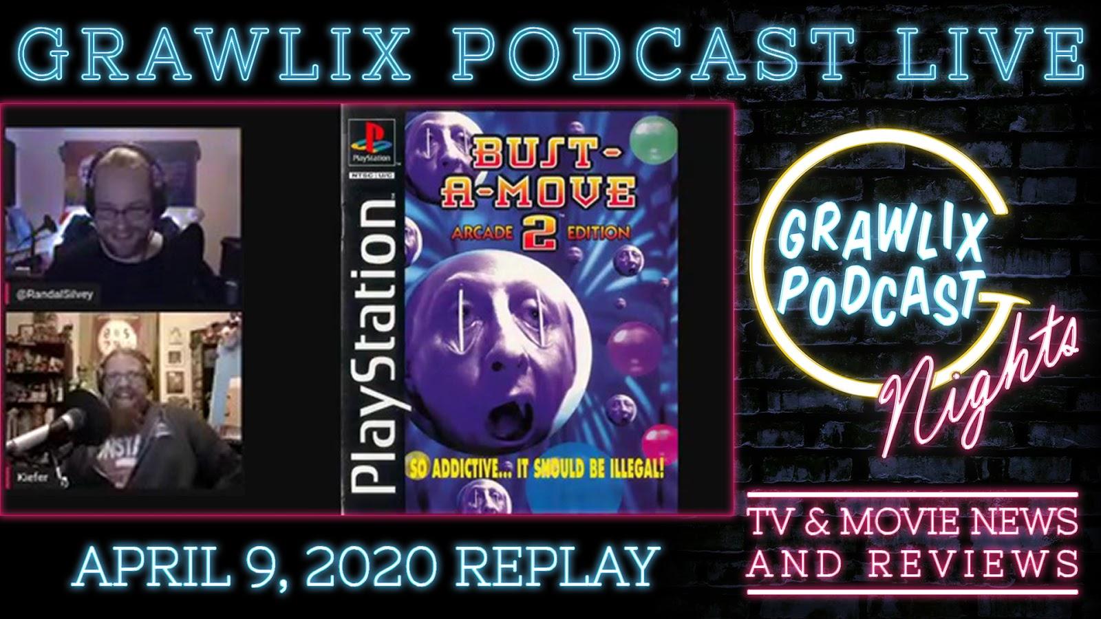 Grawlix Podcast Live