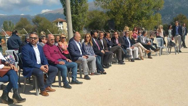 Γιάννενα: Εγκαινιάστηκε και επίσημα το ανακαινισμένο γήπεδο της Λιμνοπούλας