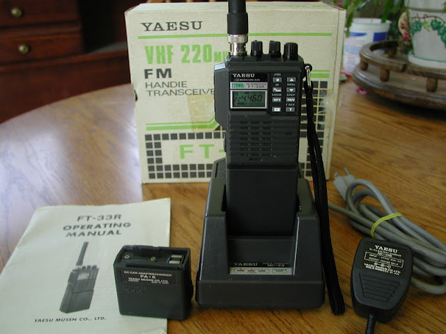 Yaesu FT-33R Handie Talkies