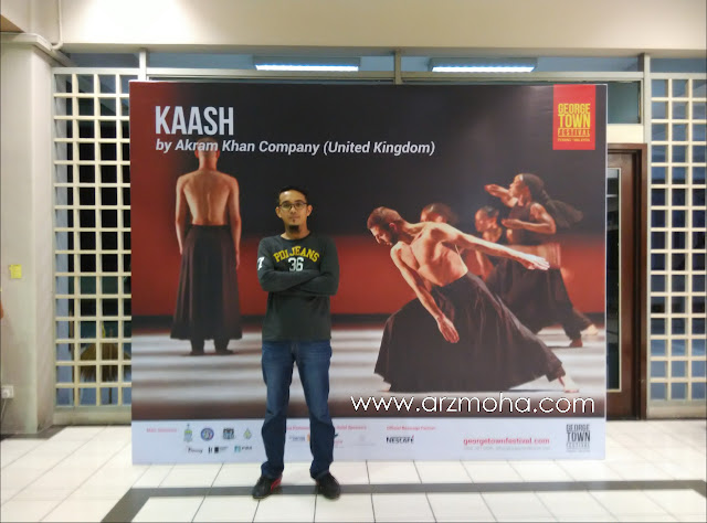 kaash by akram khan company ( united kingdom ), sweetspot malaysia, gerogetown festival,