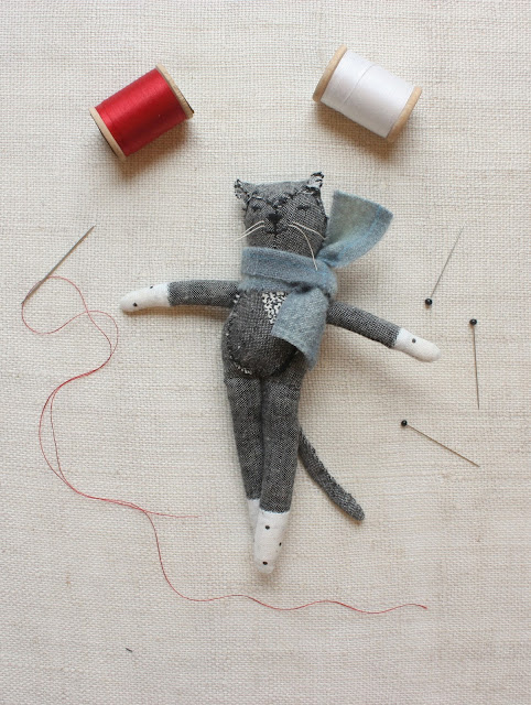 Ann Wood, artists, artist interview, cat doll, My Giant Strawberry