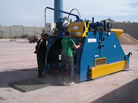 Concrete Block Making Machine Moblie Type