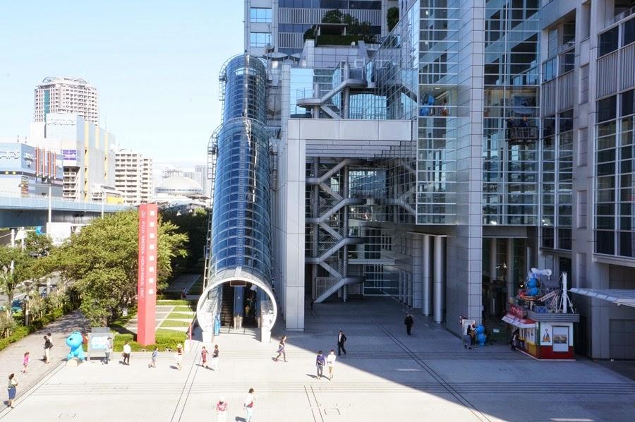SWEET-HONEYDEW: Odaiba: Fuji TV Building