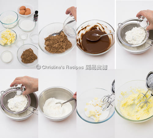 朱古力磅蛋糕 Chocolate Pound Cake Procedures01