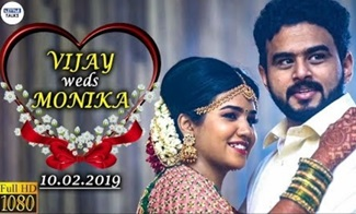 Mirchi Vijay's Marriage Video | Vijay Weds Monika | VIMON Wedding | LittleTalks