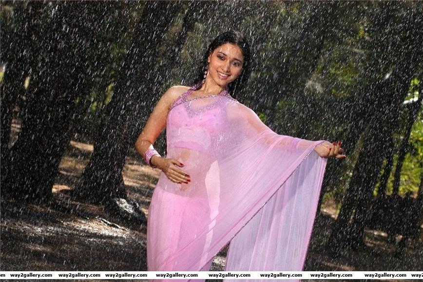 tamanna Tamanna saree hot photo stills