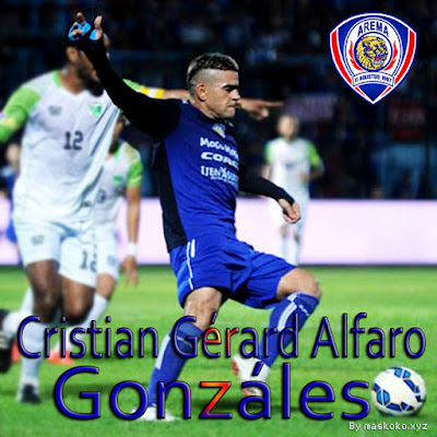 gambar poster Cristian Gonzáles Arema FC
