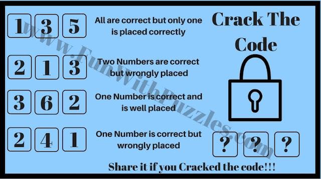 Crack the Code Brain Teaser