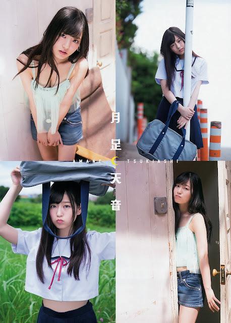 Tsukiashi Amane Gravure HKT48 YA 004