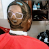 Photos: Fan Carves Singer Waconzy's Face On His Hair