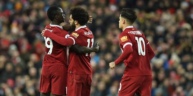 Hasil Liga Inggris : Liverpool Kontra Leicester City, Skor Akhir 2-1