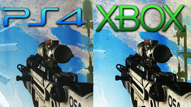 Graphic PlayStation Vs Xbox