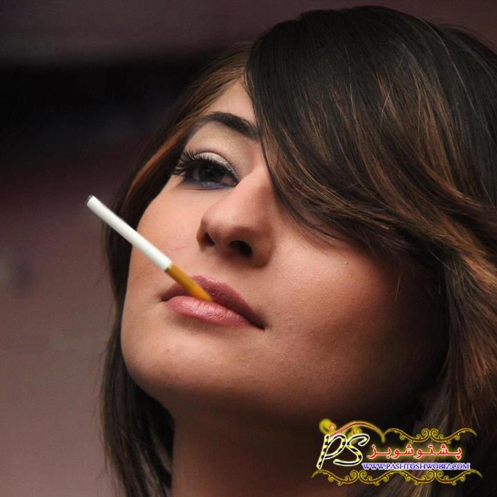 Gul Panra Drink To Smoking