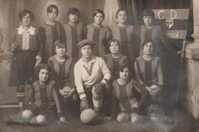 Equipo femenino del C.D. Americà en 1926